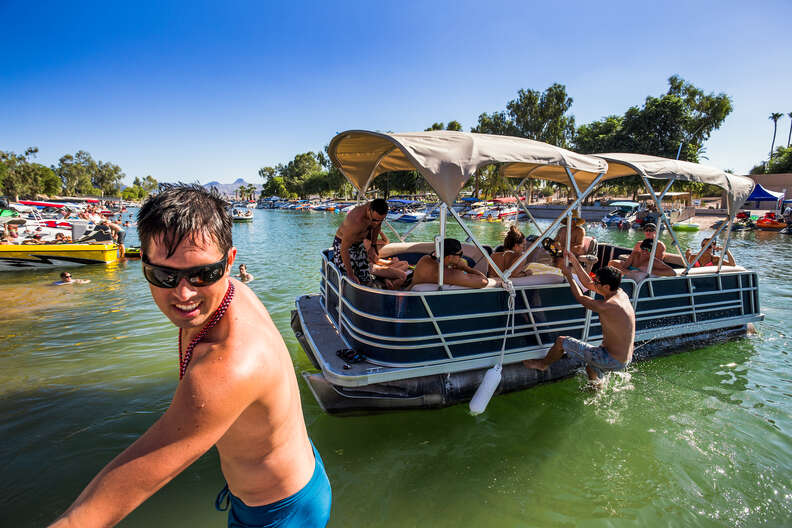 Boating on Lake Havasu