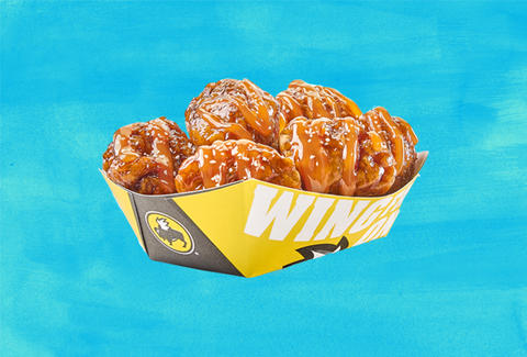 buffalo wild wings caramel wings
