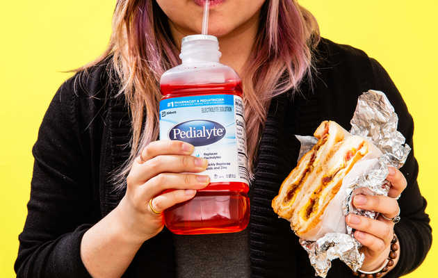 How Pedialyte Became the Go-To Hangover Cure for Adults