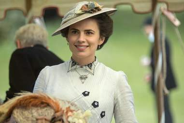 hayley atwell, starz, howards end