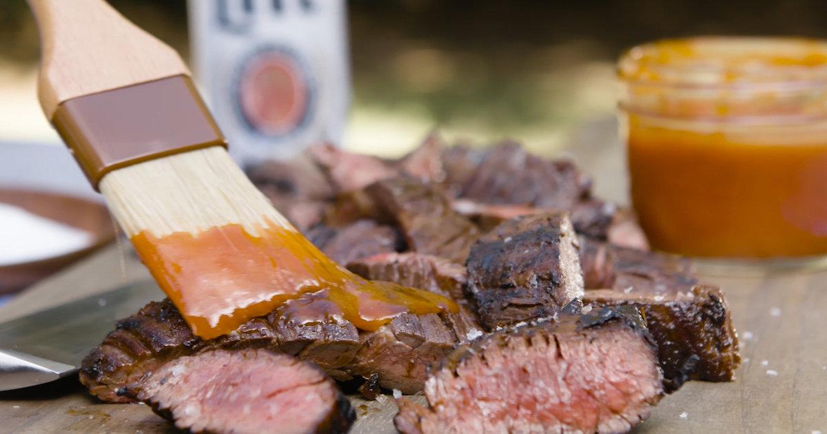 Get Grilling: Miller Lite BBQ Skirt Steak