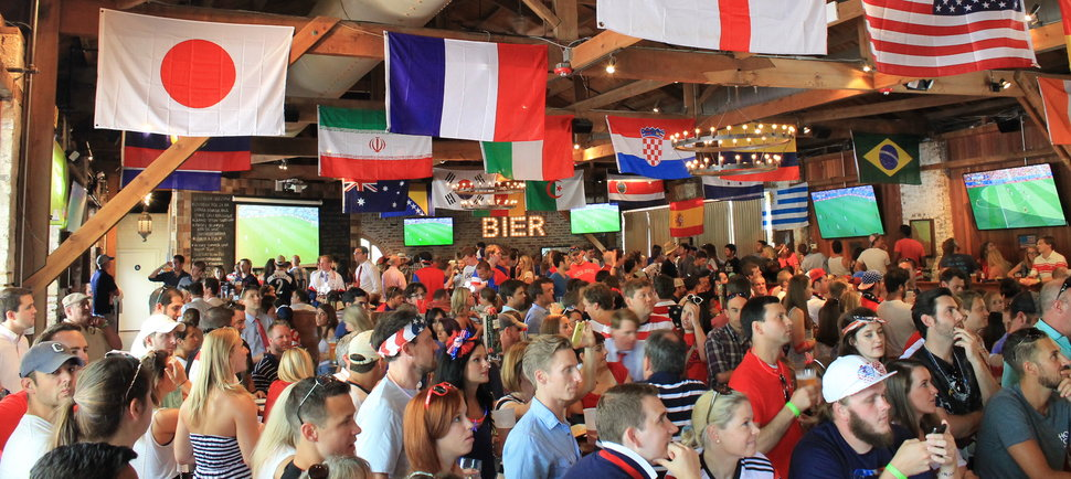 Charleston's Best Places to Watch the FIFA World Cup