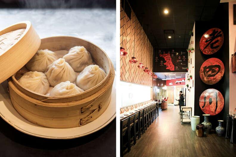 Taiwan Cafe (left), Lao Sze Chuan (right)