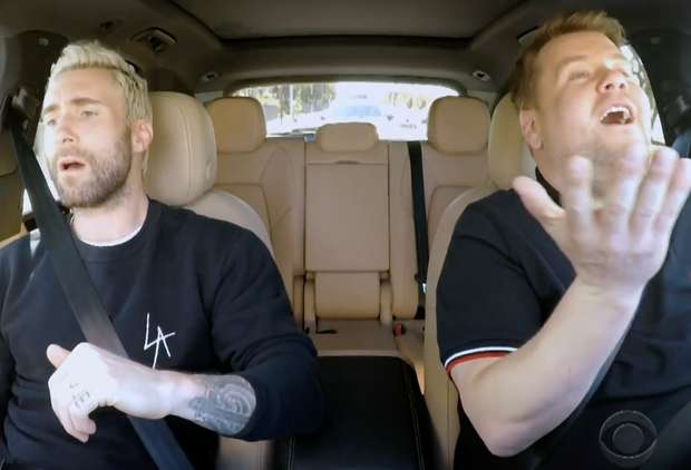 Adam Levine Gets Pulled Over by the Police During 'Carpool Karaoke'