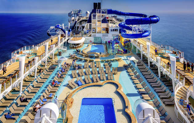 The World's Newest Cruise Ship Also Has the Sickest Rides Onboard