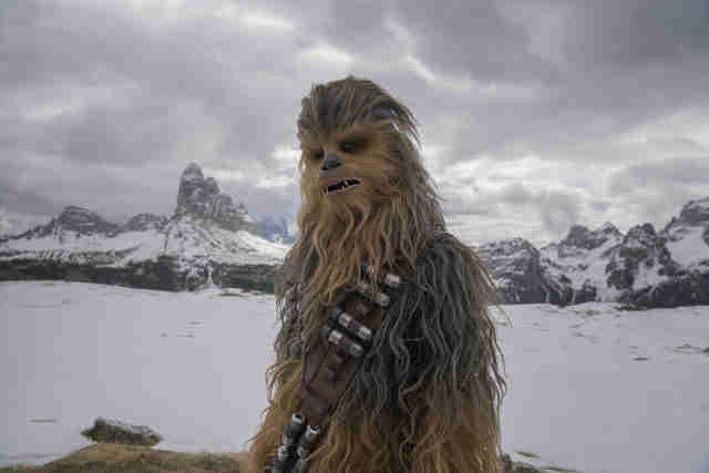 Chewbacca, Solo