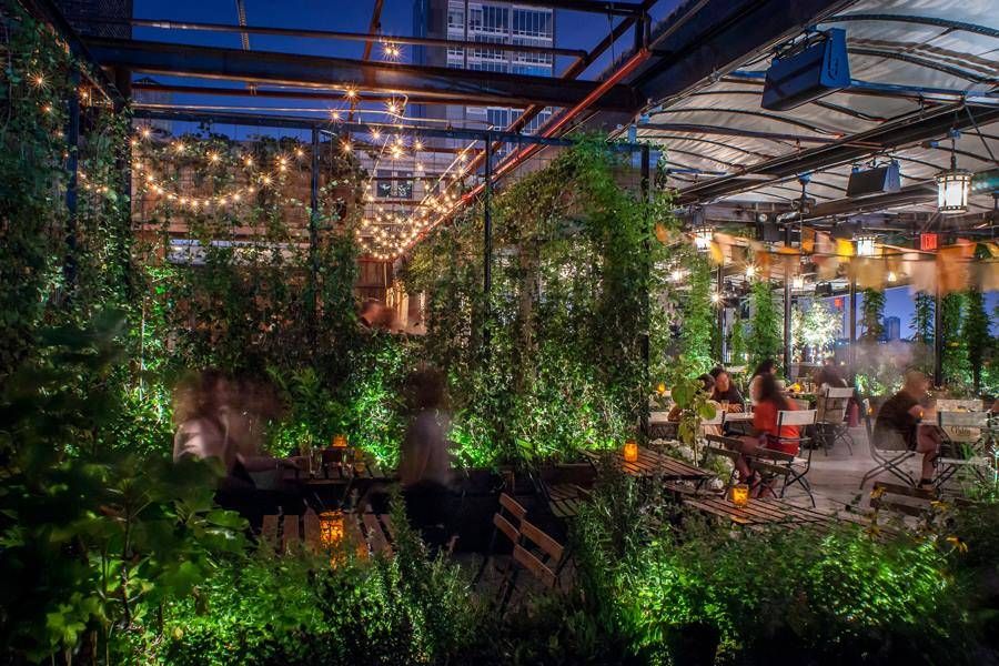 Best Rooftop Restaurants In Nyc Where To Eat Dinner With A View Thrillist