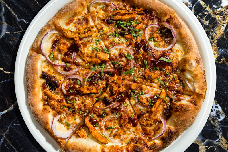 CPK buffalo pizza