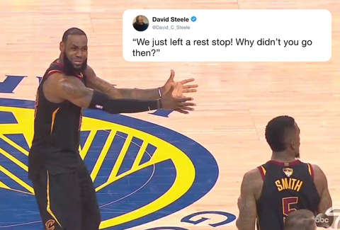 Lebron James Reaction To Jr Smith Becomes Epic Meme