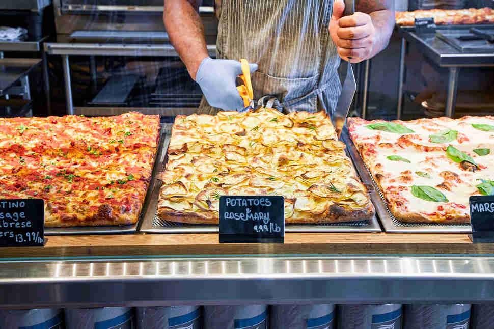 Roman Style Pizza Al Taglio Is America S Newest Pizza