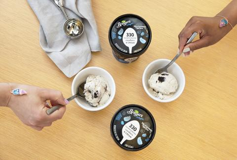 breyers free ice cream