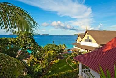 Seychelles, LaDigue island