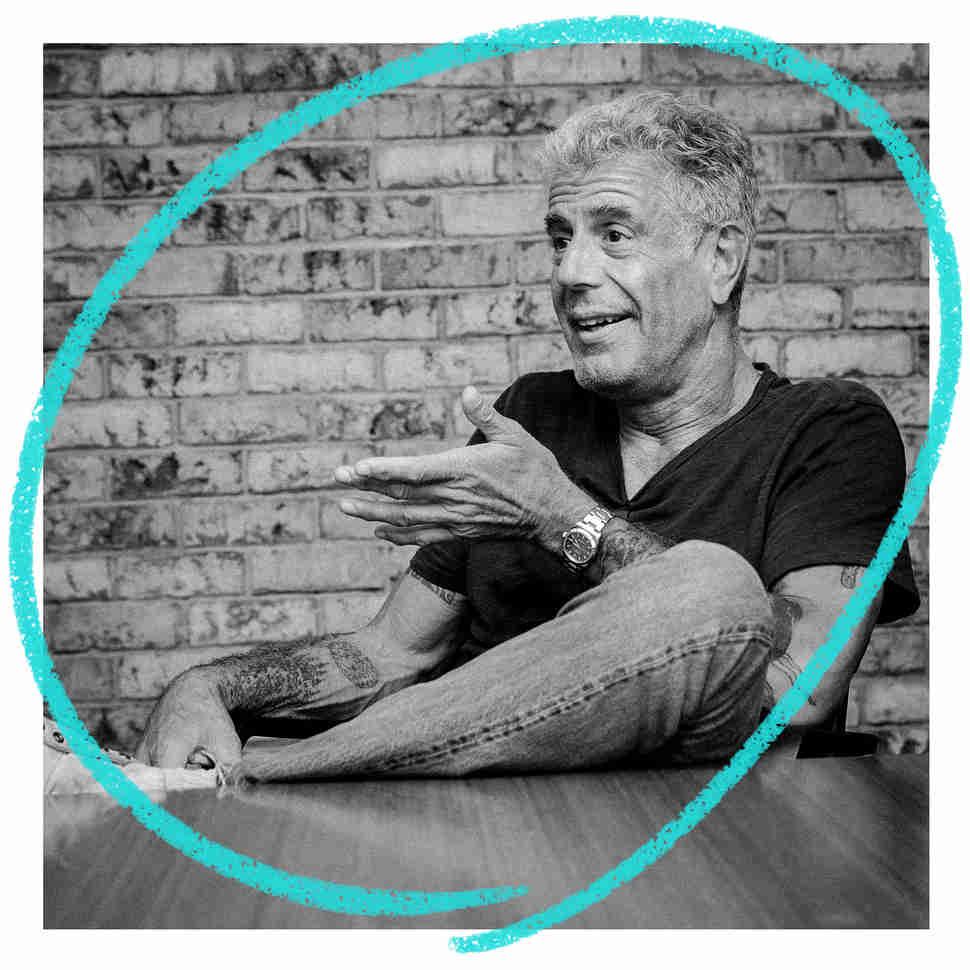 anthony bourdain, thrillist
