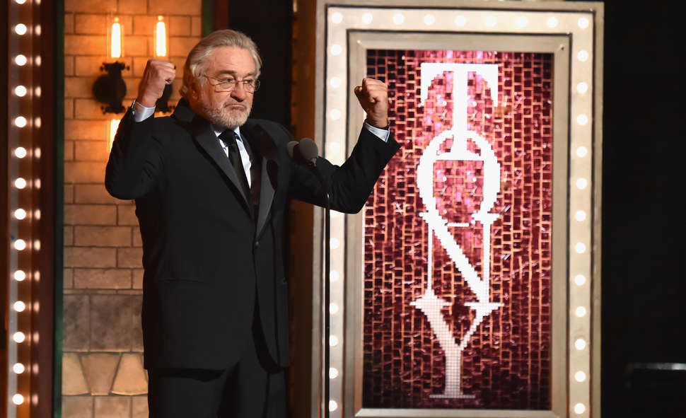 robert de niro, tony awards 2018