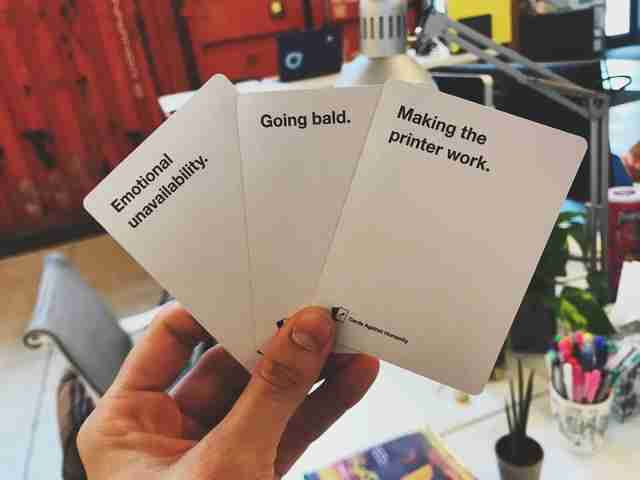 cards against humanity dad pack