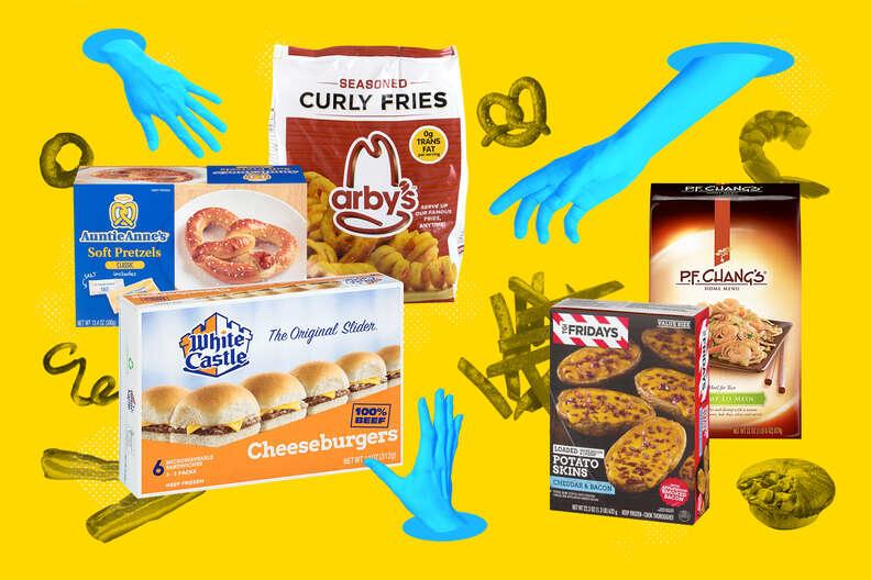 frozen fast foods