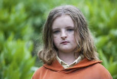 Milly Shapiro Had a Great Time Shooting the Scariest Scene in 'Hereditary'