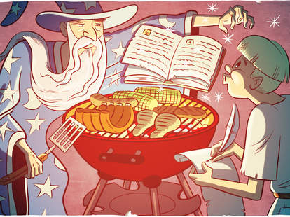 Grill wizard