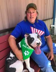pit bull dumped shelter texas