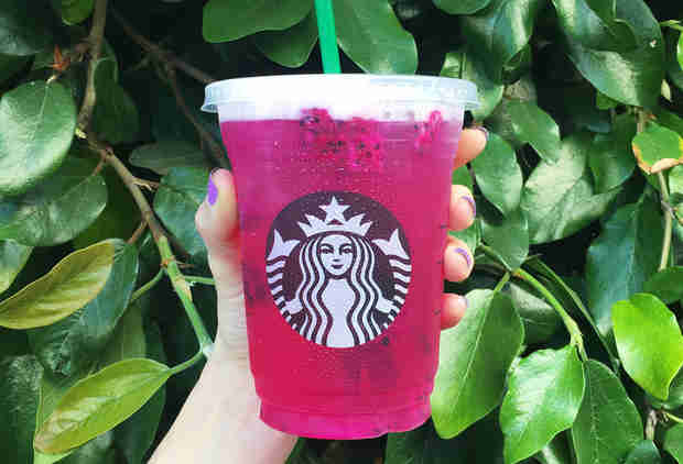 Starbucks' New 'Dragon Drink' Refreshers Are Here to Make Summer Pinker