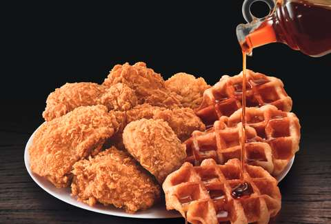 Kfc Testing Fried Chicken And Waffles In North Carolina Thrillist
