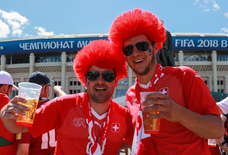 There's Huge Beer Shortages At The World Cup After Thirsty Fans Drank it All