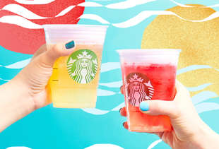 Starbucks Just Unleashed More Crazy-Colorful Drinks to Take Over Instagram