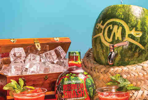 Captain Morgan Watermelon Mint Rum Punch - Backyard Party - Supercall
