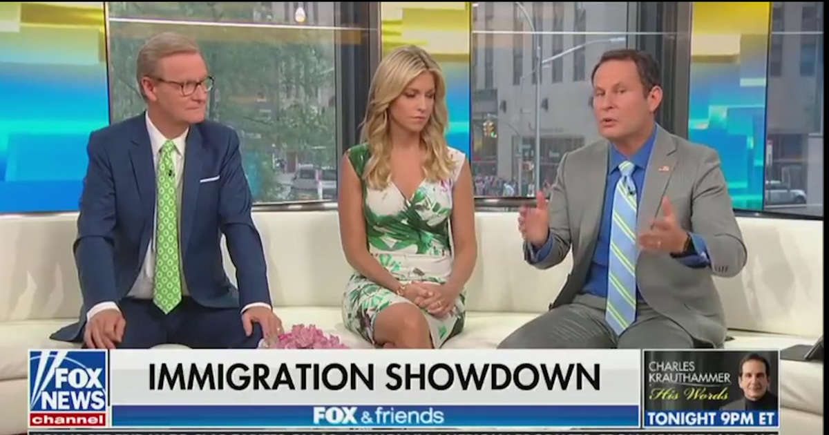 Fox News To Audience: Detained Immigrant Children 'Aren't