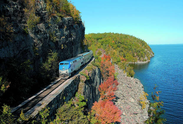 This Amtrak Sale Has Two-For-One Tickets on Some of America's Most Scenic Routes