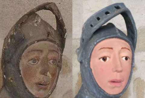 Hilariously botched statue restoration is pissing off the art world an amateur attempted to restore this priceless medieval statue and its so bad solutioingenieria Gallery