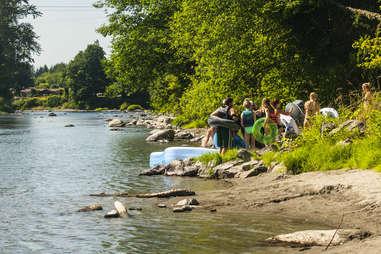 Snoqualmie River, WA