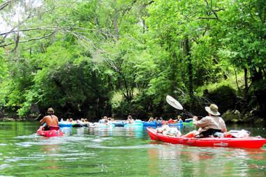 Chipola River tubing