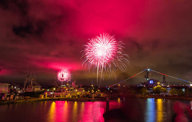 Where to Watch the Fireworks in San Diego This Fourth of July