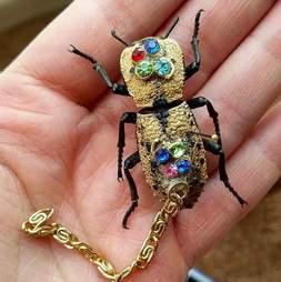live beetle jewelry mexico