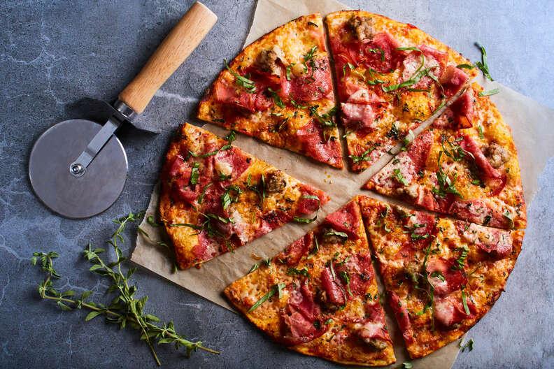 California Pizza Kitchen slices