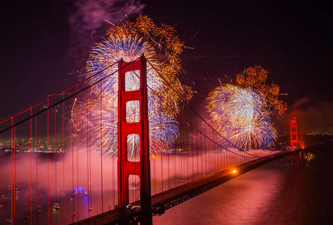 san francisco 4th of july fireworks 2018 where to watch start time