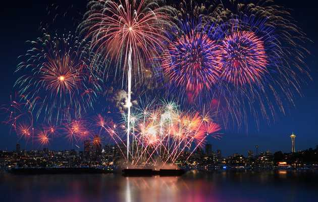 Where to Watch the Fireworks in Seattle This Fourth of July