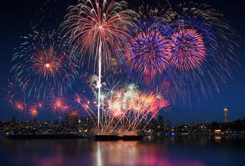 seattle 4th of july fireworks 2018 where to watch start time