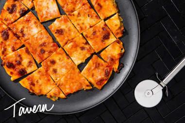 Tavern pizza slices