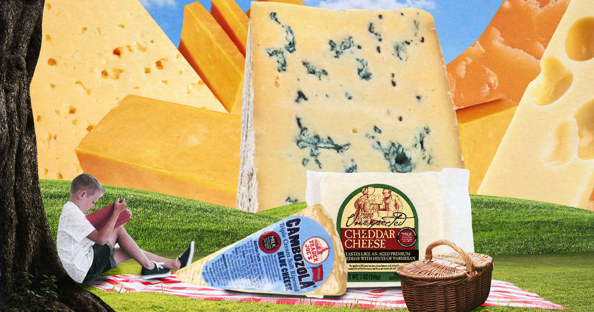 The Trader Joe's Cheeses You Need in Your Life