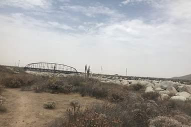 A bridge in Redlands, California