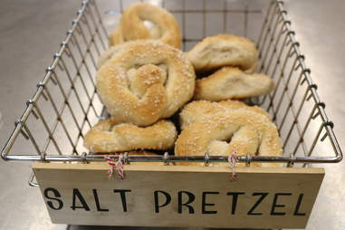 salt pretzel bagels