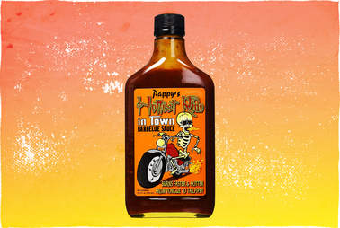 Pappy's Hottest Ride barbecue sauce