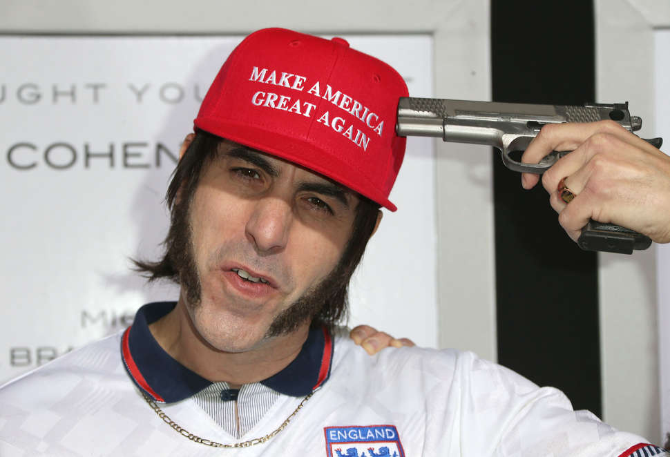 Sacha Baron Cohen Who Is America