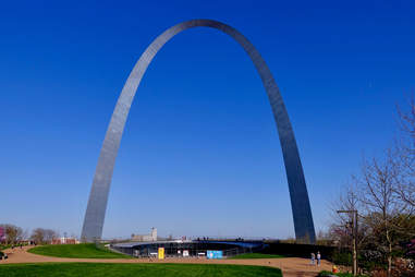 Gateway Arch in St Louis, Missourri
