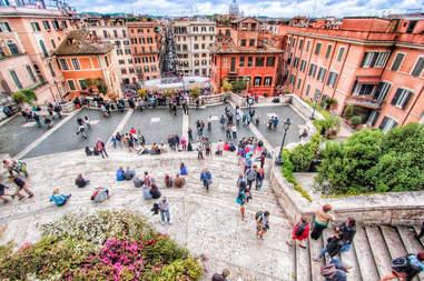 Piazza Di Spagna Stairs