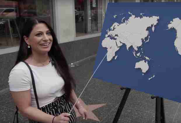Kimmel Asked People to Name Any Country on a Map and It Couldn't Have Gone Worse