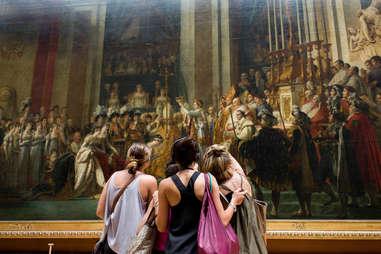 viewing art