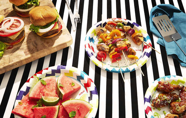 You Can Host A Cookout Using Only SOLO Plates -- Here's How